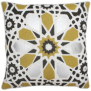 Kaleidoscope Square Decorative Pillow