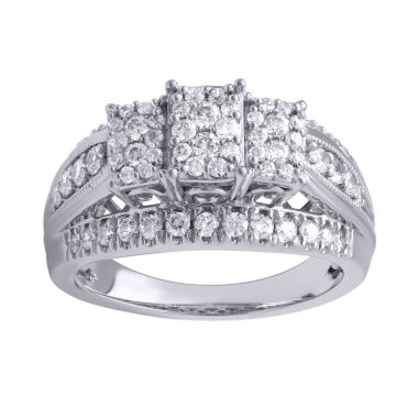 jcpenney.com | 1 CT. T.W. Round White Diamond 10K Gold Engagement Ring