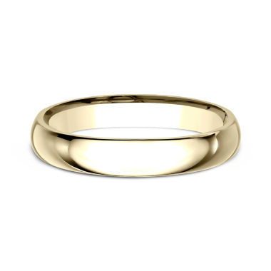 jcpenney.com | Women's 18K Yellow Gold 3MM Comfort Fit Wedding Band