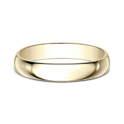Womens 4mm 14k yellow gold wedding band jcpenney womens 4mm 14k yellow gold wedding band junglespirit Image collections