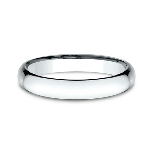 Womens 14K White Gold 3MM Light Comfort-Fit Wedding Band