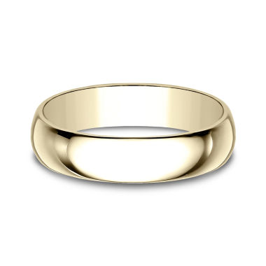 jcpenney.com | Mens 5mm 10K Yellow Gold Wedding Band