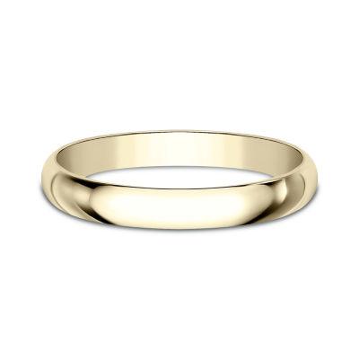 Women S 14k Yellow Gold 2 5mm Traditional Wedding Band