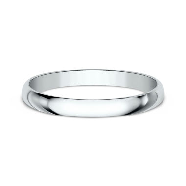 jcpenney.com | Women's 14K White Gold 2MM Traditional Wedding Band