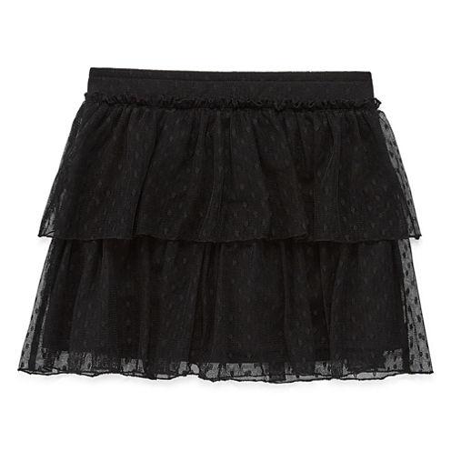Total Girl Solid Knit Skorts - Preschool Girls