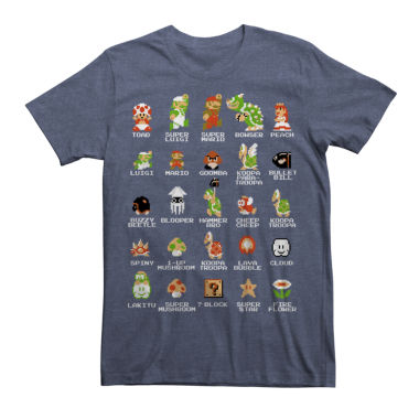 jcpenney.com | Pixel Mario Cast Graphic Tee