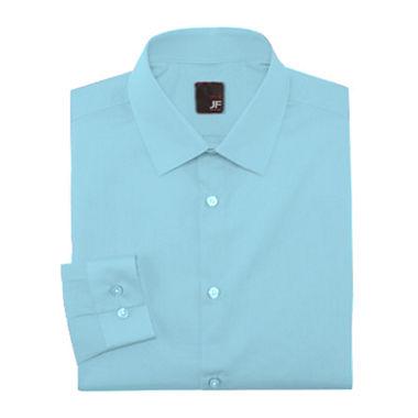 Jf j ferrar slim fit easy care dress shirt for J ferrar military shirt