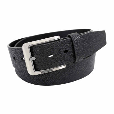 jcpenney.com | Stacy Adams Brush Nickel Buckle Single Leather Solid Belt