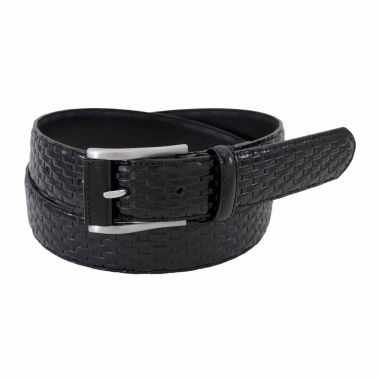 jcpenney.com | Stacy Adams Brushed Nickel With Emboss Skin Pattern Belt