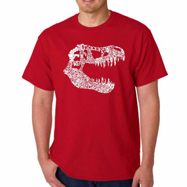 jcpenney.com | Los Angeles Pop Art Trex Short Sleeve Crew Neck T-Shirt-Big And Tall