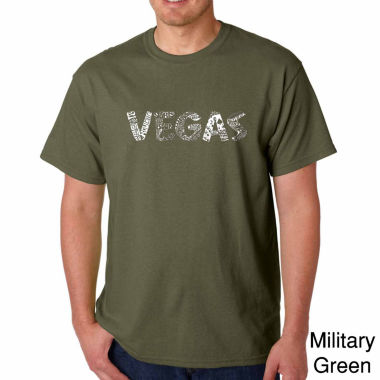 jcpenney.com | Los Angeles Pop Art Vegas Short Sleeve Crew Neck T-Shirt-Big And Tall