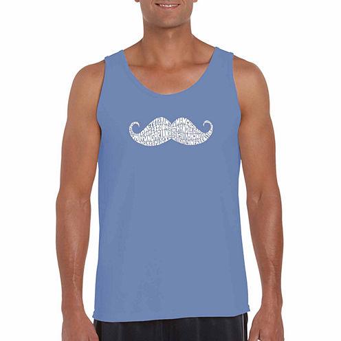 Los Angeles Fingerheart Short Sleeve Crew Neck T-Shirt-Big And Tall