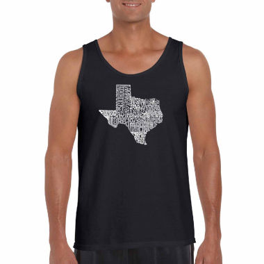 "jcpenney.com | Los Angeles Pop Art Short Sleeve ""The Great State Of Texas"" T-Shirt-Big And Tall"