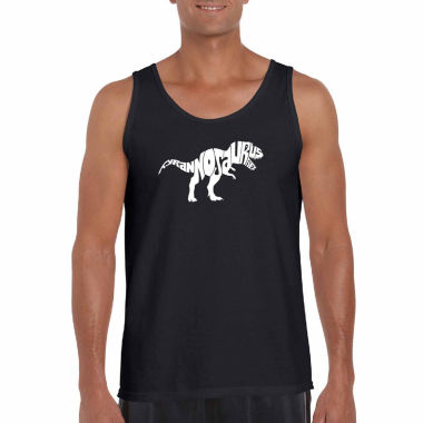 "jcpenney.com | Los Angeles Pop Art Short Sleeve ""Tyrannosaurusrex"" T-Shirt-Big And Tall"