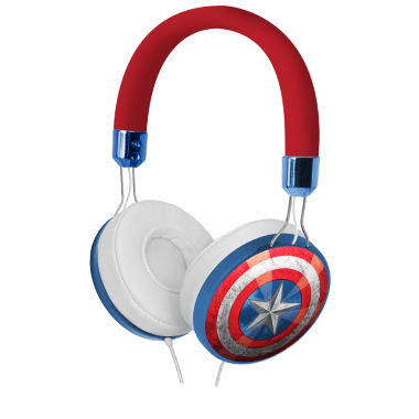 jcpenney.com | KIDdesigns Marvel Captain America Fashion Over-The-Ear Headphones