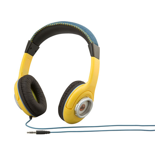 KIDdesigns Despicable Me Minions Youth Over-the-Ear Headphones