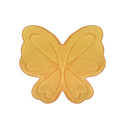 Laura Ashley Butterfly Memory Foam Bath Mat