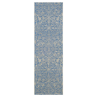 jcpenney.com | Couristan® Summer Quay Indoor/Outdoor Rectangular Runner Rug