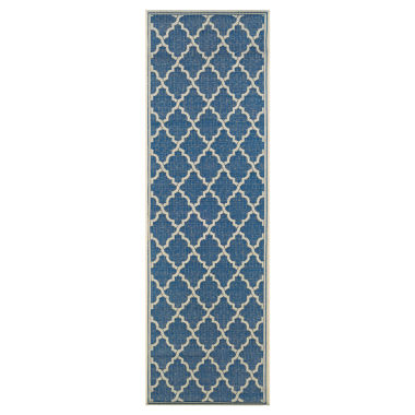 jcpenney.com | Couristan® Ocean Port Indoor/Outdoor Rectangular Runner Rug