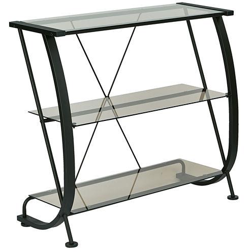 Horizon 3-Shelf Bookshelf