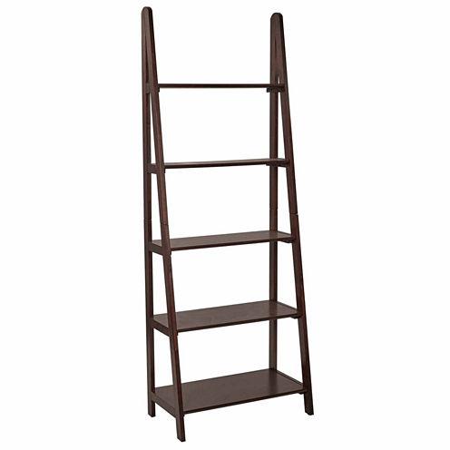 Caruth Ladder 4-Shelf Bookshelf