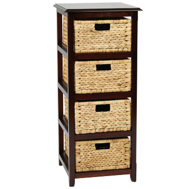 jcpenney.com | Seabrook 4-Tier Storage Accent Cabinet