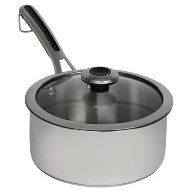 jcpenney.com | Revere Copper Confidence Core 3 Qt Stainless Steel Sauce Pan