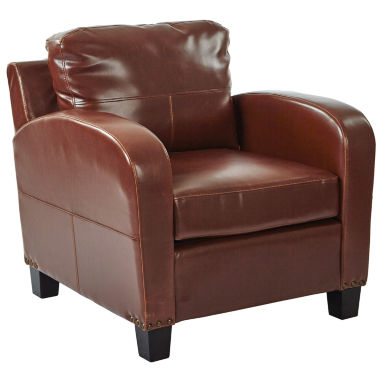 jcpenney.com | Jacob Faux Leather Club Chair