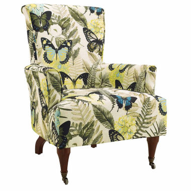 jcpenney.com | Junnell Botanical Fabric Wingback Chair