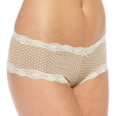 jcpenney.com | Maidenform Scalloped-Lace Cheeky Hipster Panties - 40837