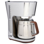 Krups® Silver Art Coffee Maker