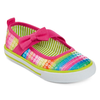 jcpenney.com | Okie Dokie® Bessie Girls Bumptoe Shoes - Toddler