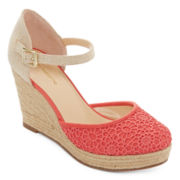 Liz Claiborne® Mabel Espadrille Wedge Sandals