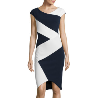 jcpenney.com | Fifth & Park Sleeveless Colorblock Bodycon Dress
