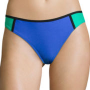 Arizona Colorblock Hipster Swim Bottom - Juniors