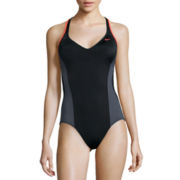 Nike® Racerback Tank One-Piece Swimsuit