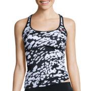 Nike® Geo Racerback Tankini Swim Top