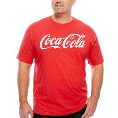 jcpenney.com | Coca-Cola Logo Tee - Big & Tall