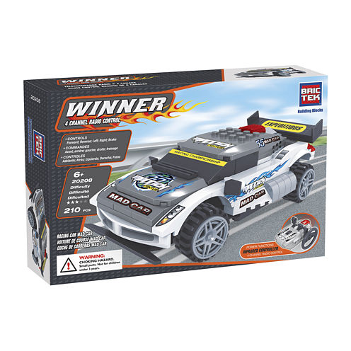 BricTek Racing Mad Remote Control Car Building Set