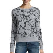 Long-Sleeve Snoopy Sweatshirt