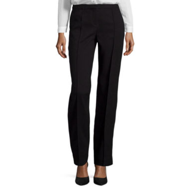 jcpenney.com | Worthington® Modern Fit Pintuck Straight Leg Pant