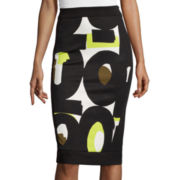 Worthington® Scuba Colorblock Pencil Skirt - Tall