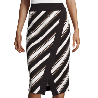 jcpenney.com | Worthington® Stripe Envelope Pencil Skirt