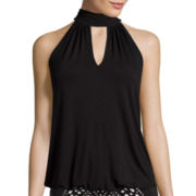 Bisou Bisou® Halter Bubble Top