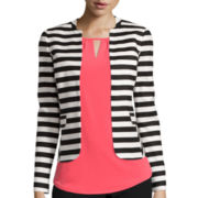 Worthington® Seamed Peplum Blazer - Tall