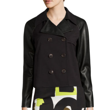 jcpenney.com | Worthington® Cropped Trench Jacket - Tall