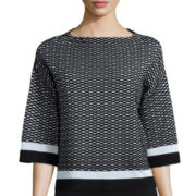 Worthington® Elbow-Sleeve Sweater
