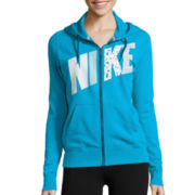 Nike® Club Fleece Long-Sleeve FZ Hoodie