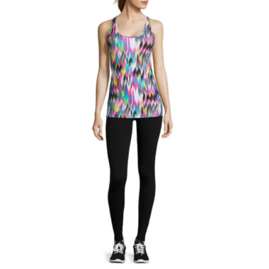jcpenney.com | Xersion™ Quick-Dri Workout Tank Top, Studio Full-Zip Hoodie, or Print Capris