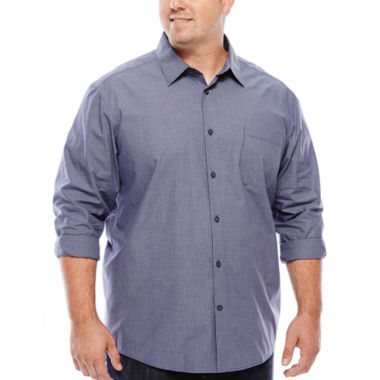 jcpenney.com | Claiborne® Long-Sleeve Woven Shirt - Big & Tall